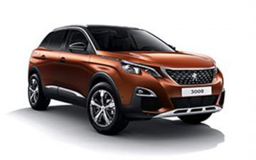 Rent PEUGEOT 3008 A/T WITH GRIP CONTROL or similar
