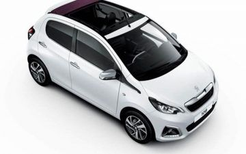Rent PEUGEOT 108 OPEN TOP or similar